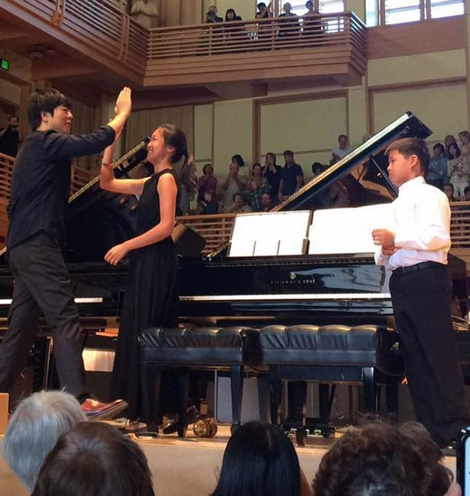 Lang Lang with Katie Gu and Andrew Gao